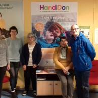 Visuel pour HandiDon à Cherbourg