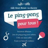 Visuel pour HandiDon - Ping Pong pour tous